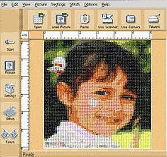 Программа фото на схему для вышивания бисером